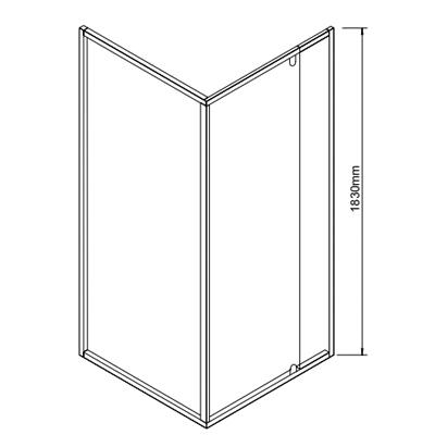 SSFL26CHCLP - dimensions