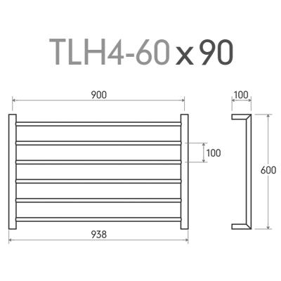 TLH4-60x90 - dimensions