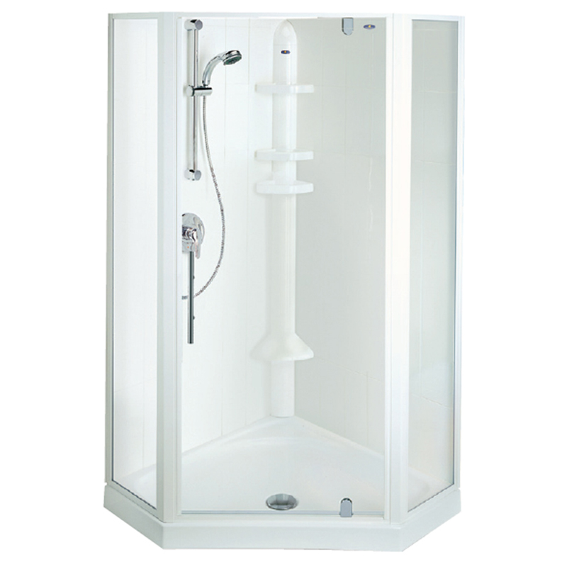 Valencia Angle Shower System – 1000 | Derwent Park Plumbing Services