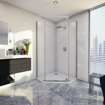 Cascade Angled Shower System