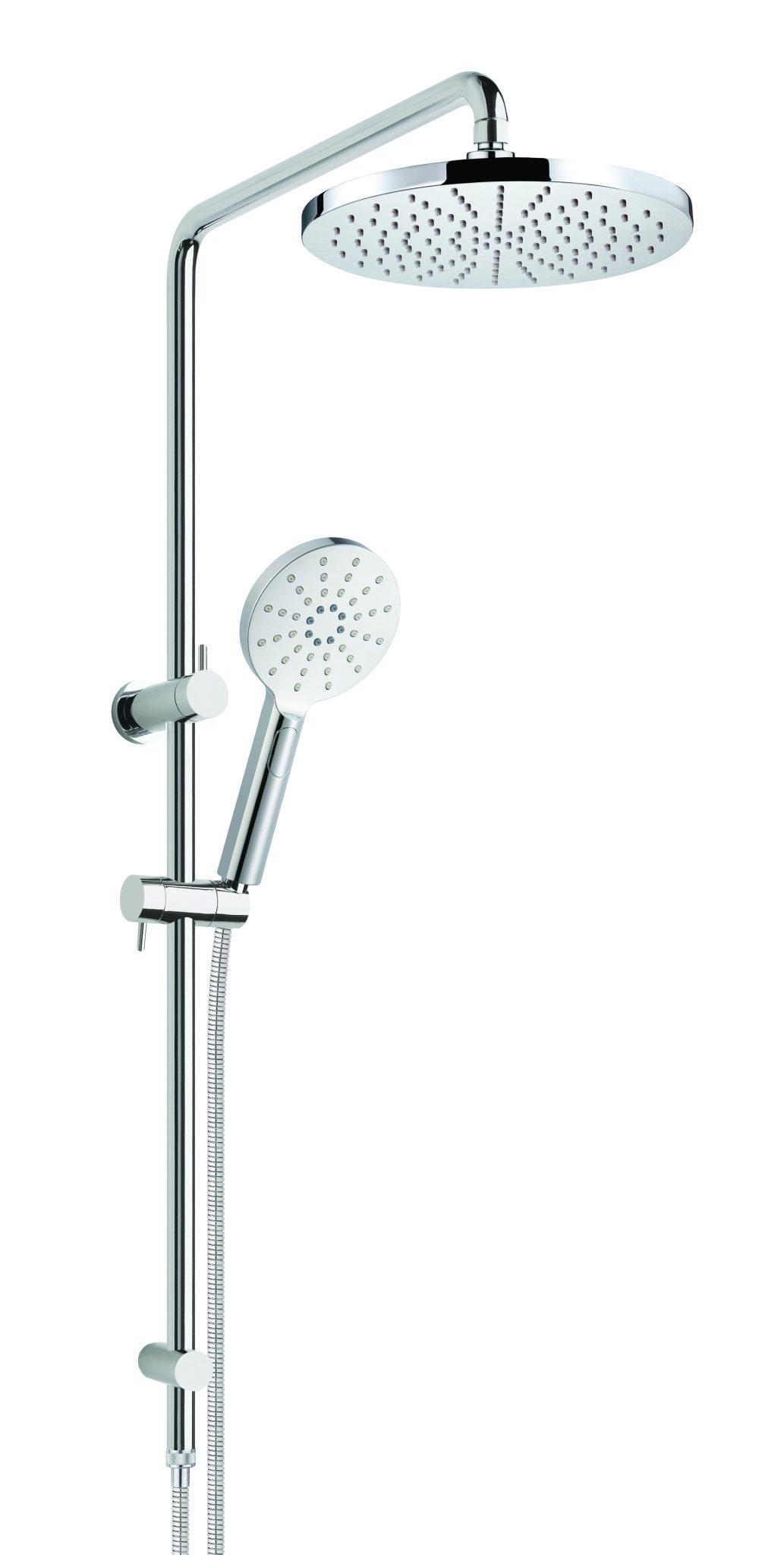 Bakara Round Twin Shower
